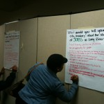 Butcher paper Exercise - Writing